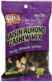 Kars Raisin, Almond, Cashew Mix