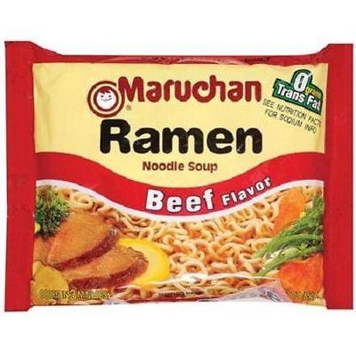 Ramen Noodles (Beef)