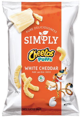 Simply Cheetos Puffs White Cheddar