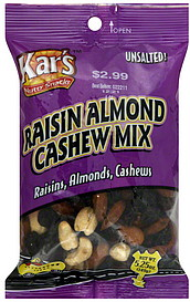 Kars Raisin, Almond, Cashew Mix