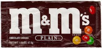 M&Ms Plain